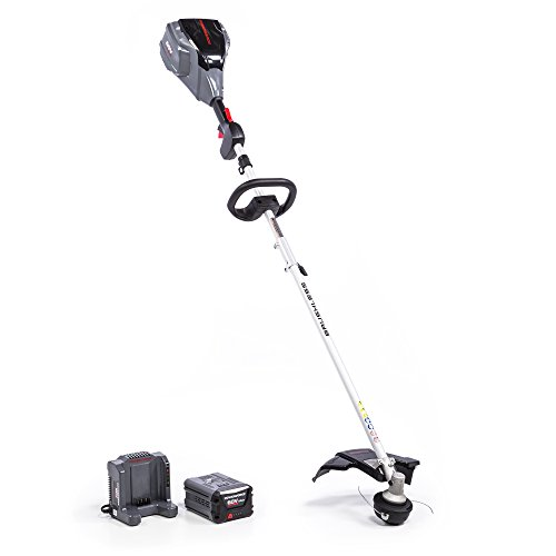 POWERWORKS 60V 14-inch Brushless Top Mounted String Trimmer, 2.5Ah Battery Included ST60L2511PW