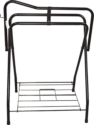 Freestanding Saddle Rack - Partrade 248032/248031 Western Saddle Rack, 19 by 36 by 25