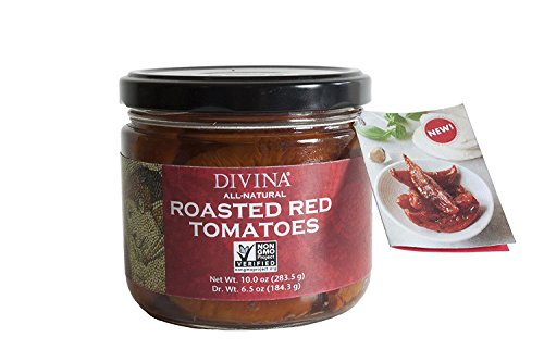 Divina Roasted Red Tomatoes, 10 Ounce (Pack Of -