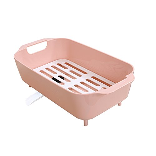 TY&WJ Kitchen Plastic Plate dish drainer Cutlery Drying rack