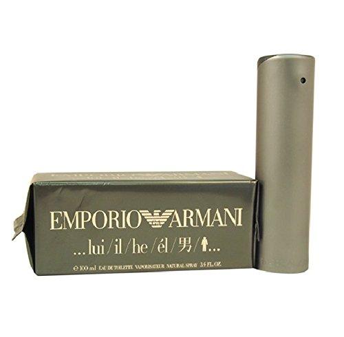 Emporio Armani by Giorgio Armani for Men - 3.4 oz EDT Spray.