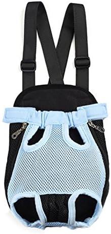 Fosinz Outdoor Adjustable Pet Carrier Breathable Comfortable Backpack Lightweight Bag Free Your Hands