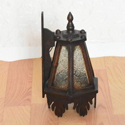Illuminazione da parete per interni La Tailandia è caratterizzata da decorazioni per la casa e da applique da parete in vetro massello in stile sud-est asiatico