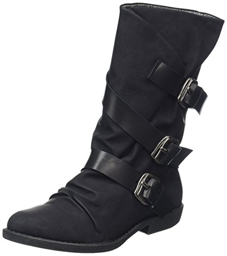 Femme Blowfish Alms Alms Blowfish Noir Bottines n47O8q