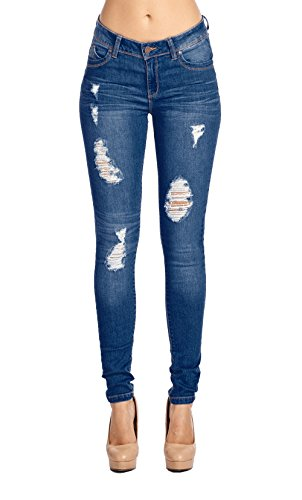 Blue Age Womes Perfect Fit Stretch Cotton Skinny Jeans(JP1034_MD_5)