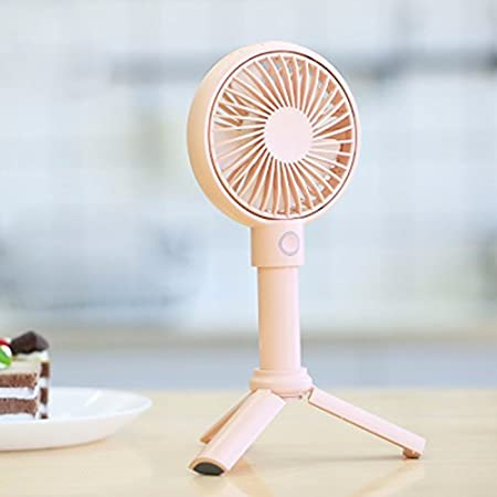 GTVERNH Student Mini Fan Usb Charging Portable Mute Outdoor Cool Cool Hand-Held Fan Home White