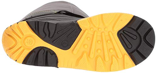 Kamik Boys' Rocket Snow Boot, Charcoal/Yellow, 11 Medium US Little Kid -