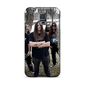 JamieBratt Samsung Galaxy S5 High Quality Hard Cell-phone Case Customized Attractive Cannibal Corpse Band Series [PdX416brrL]