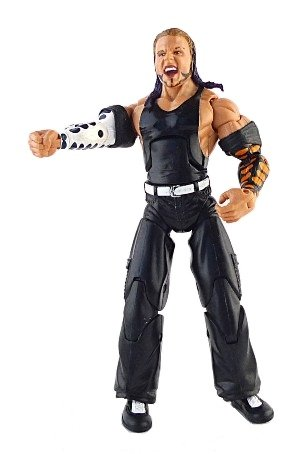 Jakks Pacific WWE Deluxe Aggression: Series 7 - Jeff Hardy Action Figure by Jakks Pacific
