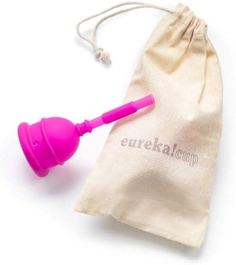 Copa Menstrual Vaciable Eureka! Cup (XL) | Silicona Médica | La Única Copa Menstrual que se Vacía Sin Retirarla