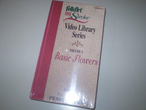 - FolkArt One Stroke Video Library Series VHS - Volume 1 Basic Flowers