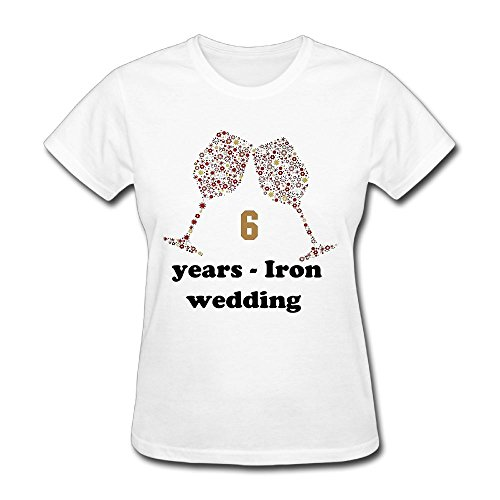 LoveBea Couple Shirts 6 Years - Iron Wedding Anniversary Gifts Vintage Big Boys' Patterned Shirt by LoveBea