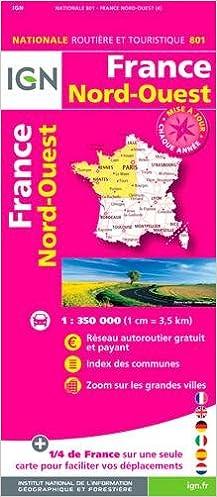 En ligne 801 FRANCE NORD-OUEST  1/350.000 epub pdf