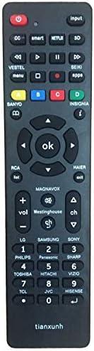 Control Remoto Universal de TV para Samsung, Vizio, LG, Sony, Panasonic, Smart TV, HAIER, Toshiba, Philips, TCL, Hitachi, Hisense: Amazon.es: Electrónica