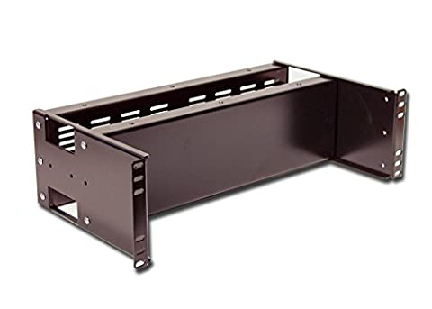 Rackmount Dual Solid and Vented Panel 3U - Blank Filler Module