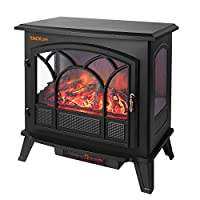 TACKLIFE Electric Fireplace Heater, 25 I...