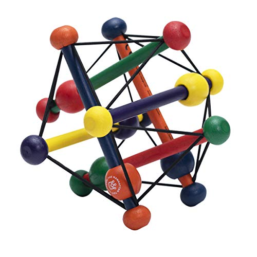 (Manhattan Toy Skwish Classic Rattle and Teether Grasping Activity Toy)