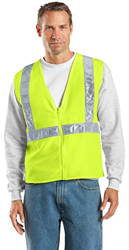 (Port Authority Enhanced Visibility Vest, Safety Yellow/ Reflective, 2/3X)