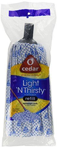 O-Cedar Light 'N Thirsty Cloth Mop Refill (Best Screws For Cedar)