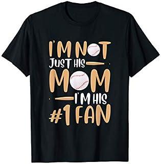 Baseball Mother Fan Fitness Baseball Player Fitness Child T-shirt | Size S - 5XL