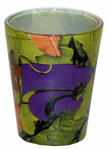 Game Day Outfitters NCAA Kansas State Wildcats Shotglass, Camo ()