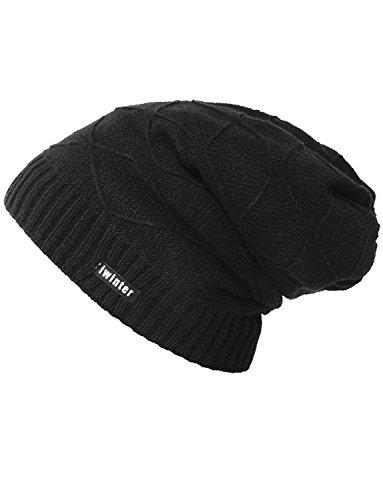 tejida ganchillo para tejido Sombrero de invierno gorrita Sombreros ganchillo Caqui a DYSS esquí de hombre de de qUtHwp
