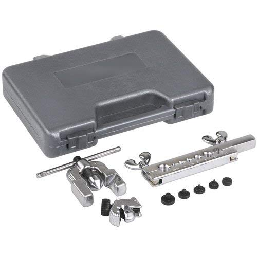 OTC 6506 Deluxe Metric Double Flaring Tool Set with Cutter