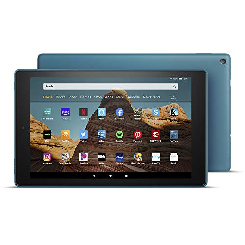 "All-New Fire HD 10 Tablet (10.1"" 1080p full HD display, 64 GB) - Twilight Blue"