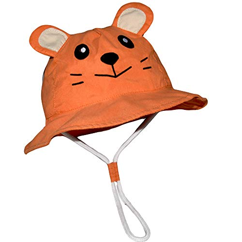 Toddler Bucket Hat Boy -Baby Kids Girl Reversible Sun Protection Animal Hat - Hats For Kids Animal