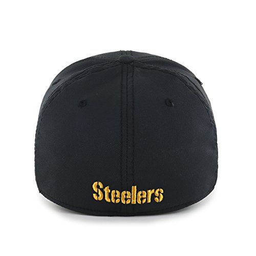 OTS NFL Pittsburgh Steelers Wilder Center Stretch Fit Hat 1be76c0b6