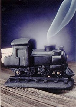 Black Steam Engine Burner With Pinon Natural Wood Incense - Incienso De Santa Fe (Best Product For Engine Knocking)