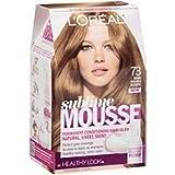 L'Oreal Sublime Hair Color Mousse - #73 Golden Dark Blonde (Pack of 3)