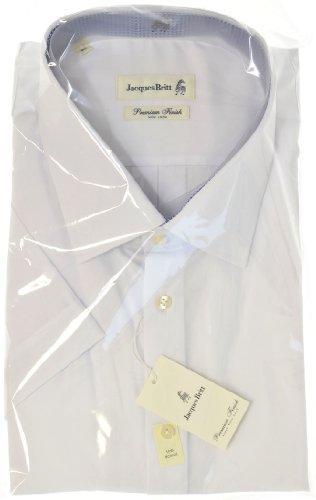 Jacques Britt Premium Finish - Herrenhemd - Hemd Kurzarm Vollschnitt