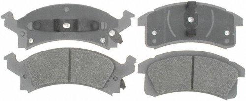 ACDelco 14D506M Advantage Semi-Metallic Front Disc Brake Pad Set with Wear Sensor