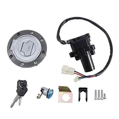 - TOPAUP Ignition Switch Keys Lock Cylinder Yamaha Kit Gas Cap Cover Bracket FJR1300 2001-2005 YZF R6 2004 2006-2011 R6S FZ6 2004-2005