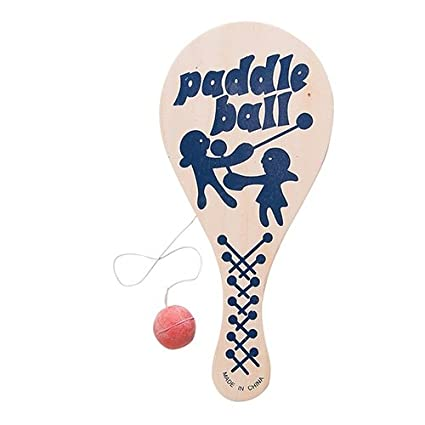 Amazon.com: Paddle Balls - 12 per pack: Toys & Games