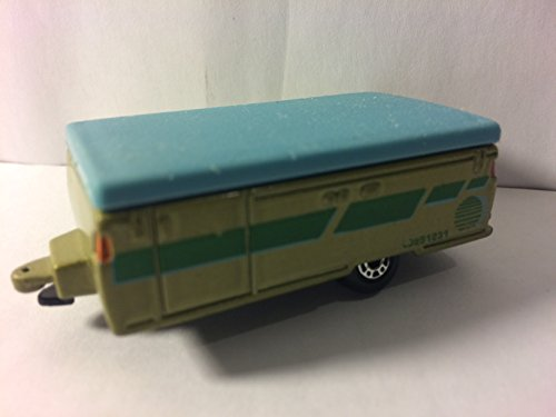Matchbox Pop-Up Camper Vintage Collectible Die cast Toy Car Green Blue (Pop Up Camper Toy compare prices)