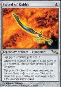 Magic: the Gathering - Sword of Kaldra - Mirrodin