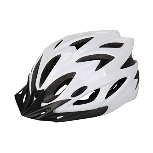 NEWCOMDIGI Eyourlife Wind Cross Road/Mountain Bike/Cycling Helmet EPS Teens Helment/Adult Helmet For Mens Womens Safety Protection/White (Climbing Mountain Helmet)