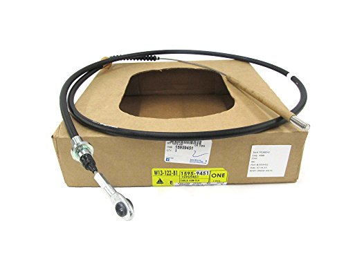 OEM NEW Engine Manual Clutch Pedal Control Cable 90-02 Kodiak Topkick 15959451 by GMC
