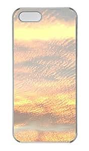 iPhone 5 5S Case Texas Evening Sky PC Custom iPhone 5 5S Case Cover Transparent