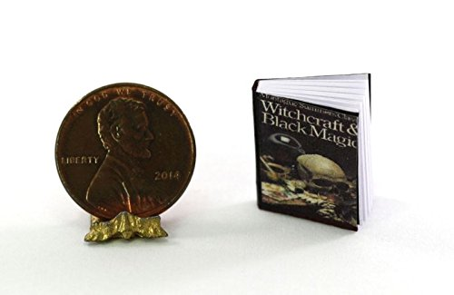 Dollhouse Miniature 1:12 Scale Halloween Witchcraft & Black Magic -