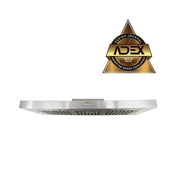 KOBE Range Hoods 3-Speed 750 CFM Stainless Steel Brillia Under Cabinet Range Hood