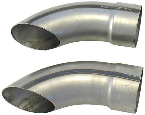 Patriot Exhaust H3815 Exhaust Tail Pipe Tip: