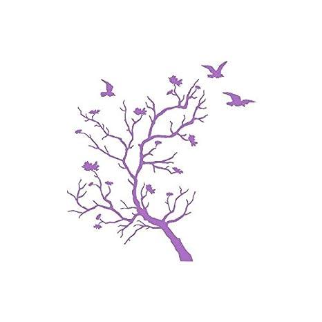Adesivi Stickers Appendiabiti ad albero uccelli-Attaccapanni a muro ...