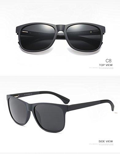Sol C4 Aviator C3 Protección para para Mujer De Gafas 400 UV Hombre Polarizadas 5OU66q