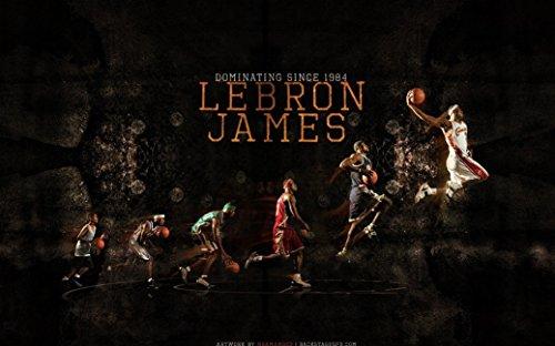 James Lebron Fabric (bribase shop Lebron James Poster 40x24)