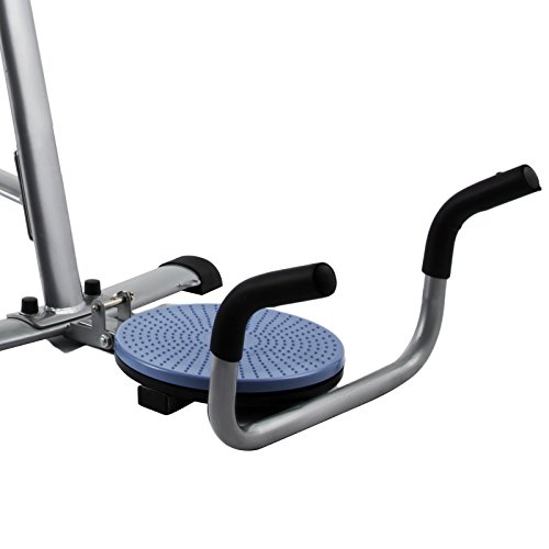 Popsport Abdomen Machine 330LBS Abdominal Coaster Abdomen Exercise Equipment with Adjustable Seat for Abdominal Muscle Training (Ab Coaster with 4 Dumbbells and wriggled Plate) by Popsport (Image #8)