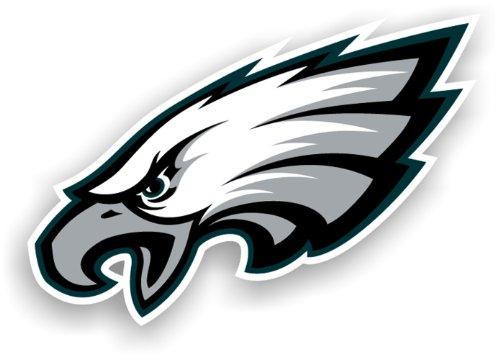 NFL Philadelphia Eagles 12-Inch Vinyl Logo Magnet (12 Magnet Car Logo)