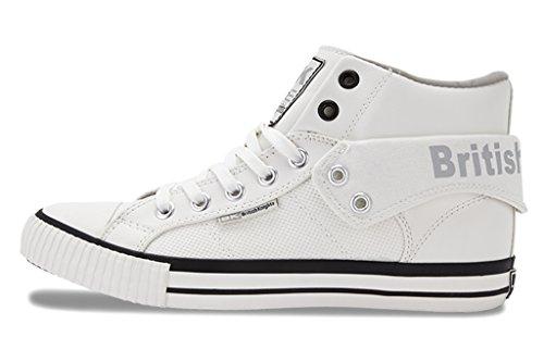 British KnightsRoco - Zapatillas Mujer Blanco / gris claro